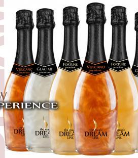 Espumoso DREAM LINE caja de 6 botellas. 3 colores