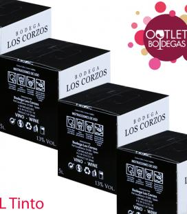 Vino en Bag in box 5 litros (Lote)