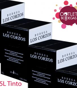 Bag in box 15 litros Tinto Recomendado (Lote)