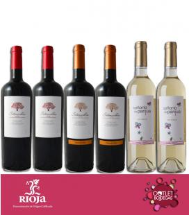 Pack tinto Rioja Sotonovillos y blanco verdejo Señorío de Panjua