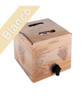 "Bag in Box 5 Litros Vino Blanco cosechero Bodega ""Los Corzos"""