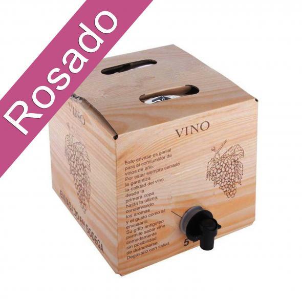 Bag in Box 5L Vino Rosado Joven Bodega Los Corzos SIN D.O.