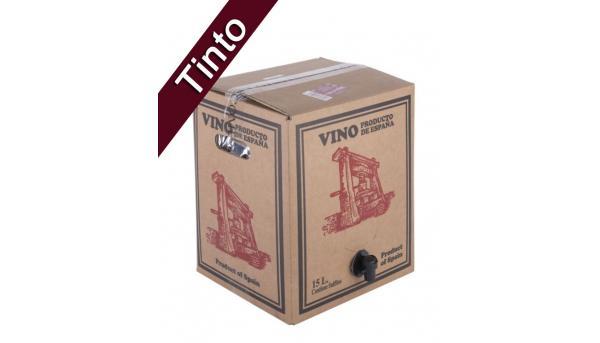 Bag in Box 15L Vino Tinto Joven Bodega Los Corzos