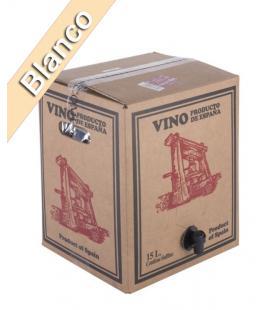 "Bag in Box 15 Litros Vino Blanco cosechero Bodega ""Los Corzos"""
