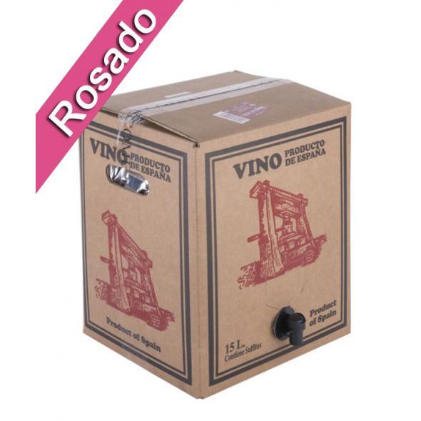 Bag in Box 15L Vino Rosado Joven Bodega Los Corzos