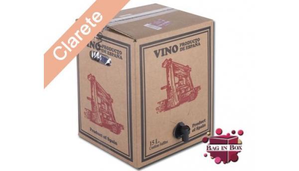 BAG IN BOX 15 LITROS CLARETE «PRENSA LOS CORZOS»