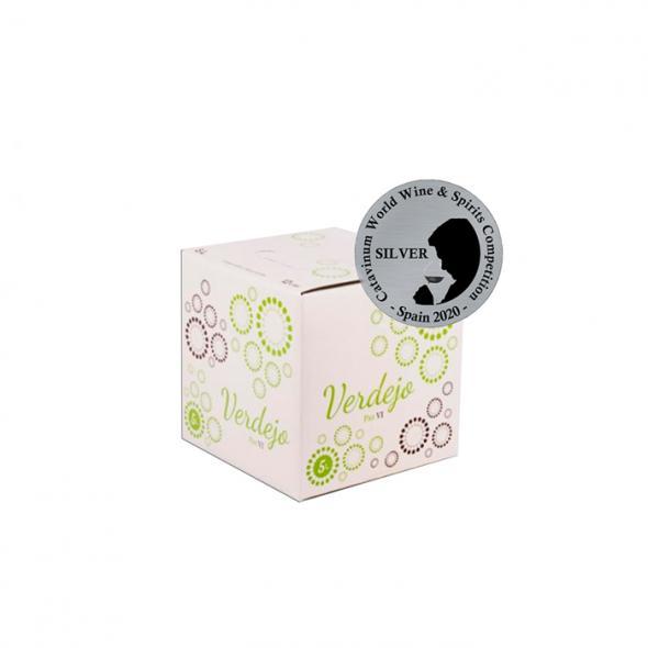 """Bag in box Verdejo """"Paz VI"""" - 5 litros (Caja)"""