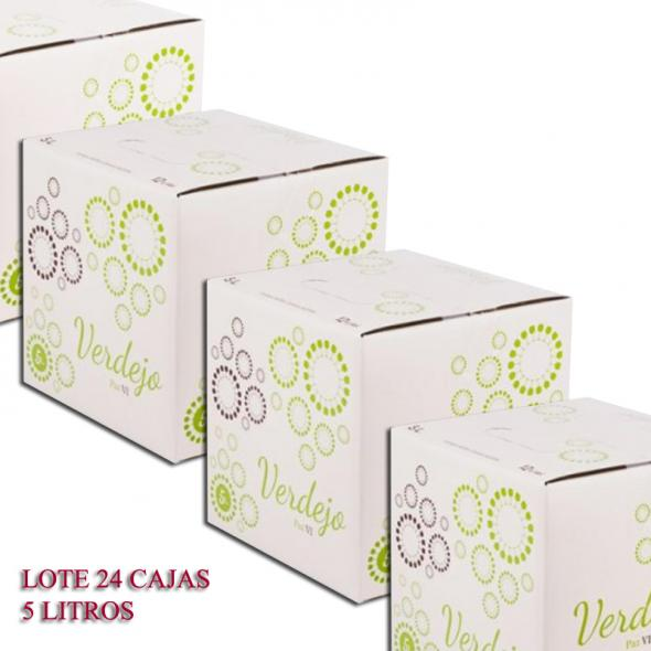 """(Lote 24 Cajas 5 Litros )Bag in Box Verdejo """"Paz VI"""" - 5 Litros"""