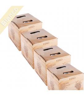 "LOTE 24 Bag in Box de 5 Litros Vino Blanco cosechero Bodega ""Los Corzos"""