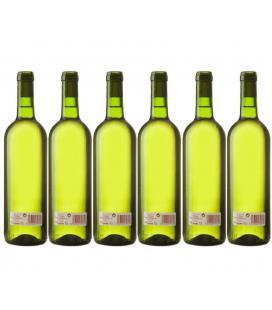 """Vino Blanco cosechero Bodega """"Los Corzos"""" Caja de Botellas 6 x 750 ml"""