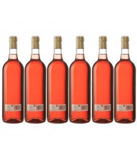 """Vino Rosado Cosechero Bodega """"Los Corzos"""" Caja de Botellas 6 x 750 ml"""