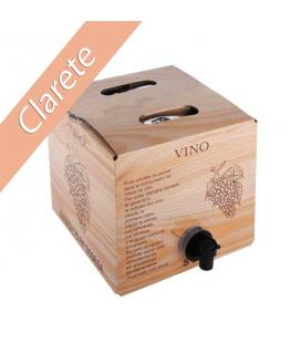 Bag in Box 5L Vino Clarete Cosechero Bodega Los Corzos