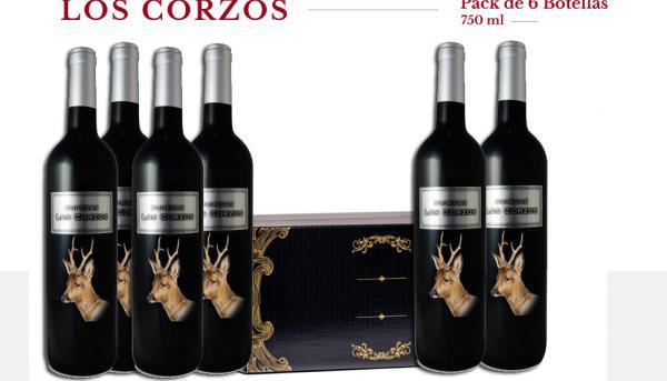 BODEGA LOS CORZOS Premium Caja 6 Botellas