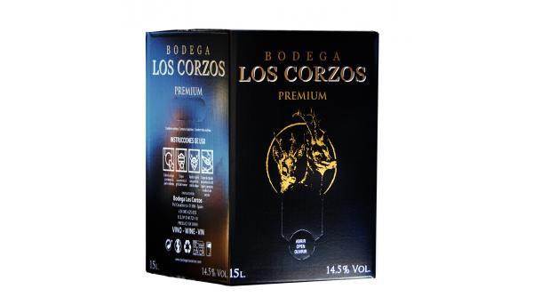 Bag in Box 15L Vino Tinto Recomendado PREMIUM 14,5 % Vol