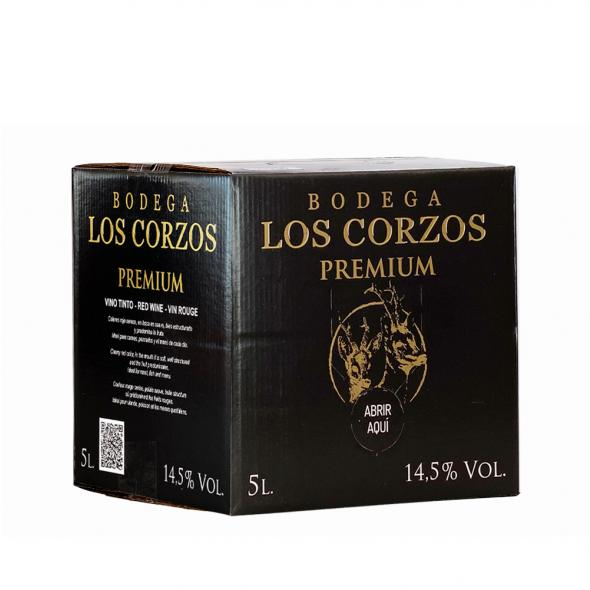 Bag in Box 5L Vino Tinto PREMIUM 14,5 % Vol Bodega Los Corzos