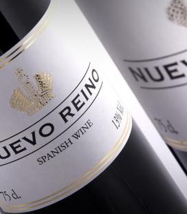 "(Lote 25 Cajas x 6 Botellas) Vino tinto de mesa ""Nuevo Reino"""