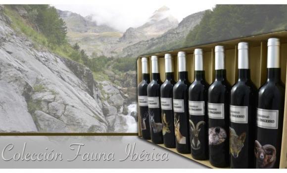 """Un buen vino para regalar Colección """" FAUNA IBÉRICA"""""""