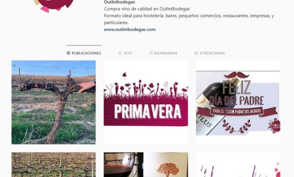 Lanzamos nuevo perfil en Instagram de Outletbodegas