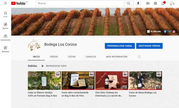 ¡Ya puedes seguir a Bodega Los Corzos en su nuevo canal de Youtube!